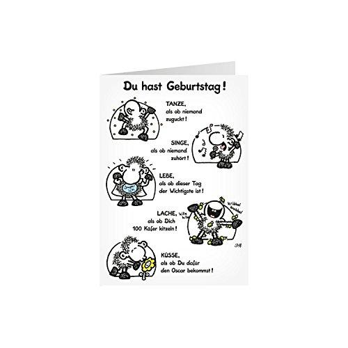 Sheepworld 58025 XXL Klappkarte Geburtstag,