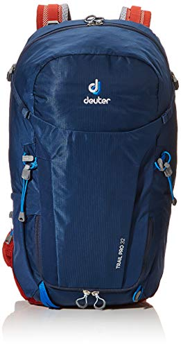 Deuter Unisex-Adult Trail Pro 32 Rucksack, Midnight-Lava, 60 x 32 x 22 cm, 32 L