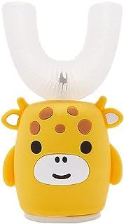 Orale Reiniging Kinderen elektrische tandenborstel intelligente schoonmaak 5 versnellingssnelheid voor 2-7 jaar oud kinder...
