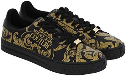 Versace Jeans Couture Men Fondo Court Sneakers Nero 9 US product image