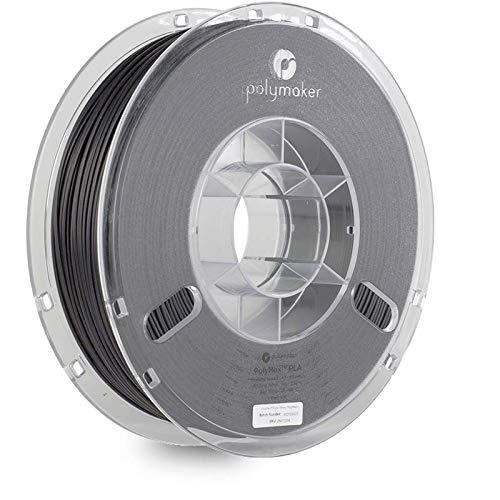 Polymaker Tough PLA Filament 1.75mm Black PLA 750g Spool - PolyMax PLA 1.75 PLA Filament 3D Printer...