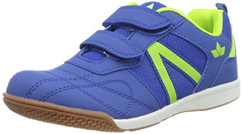 Lico First Indoor V Jungen Multisport Indoor Schuhe, Blau/ Lemon, 30 EU