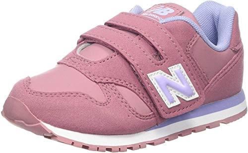 New Balance Yv373v1, Zapatillas para Niñas, Rosa (Pink/Purple Pink/Purple), 35 EU