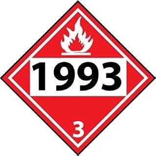 1993 tanker placard