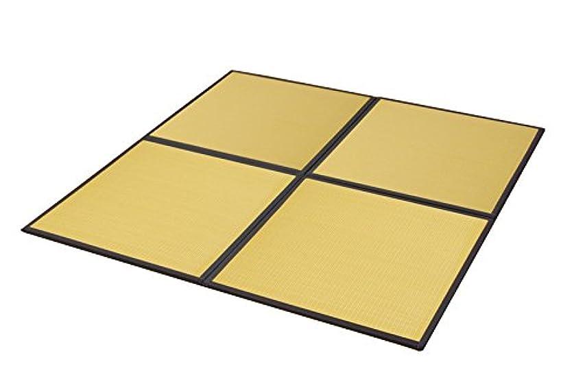 ギャングポーター買い物に行くイケヒコ 置き畳 ユニット畳 PP 軽量タイプ 『スカッシュ』 ベージュ 約82×82×1.7cm (4枚1セット)