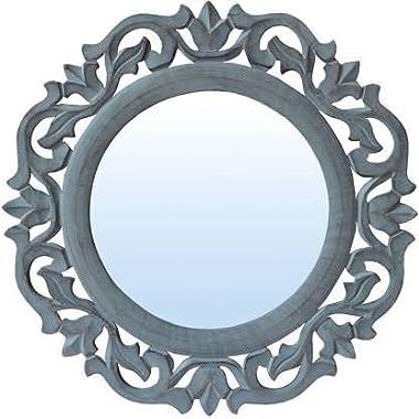 Decorative Mirror Blue(Round Shaped)
