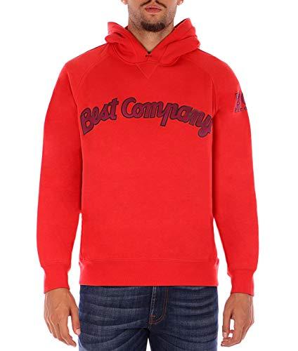 Best company roter Sweatshirt Hoodie XL