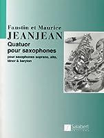 ジャンジャン: サクソフォン四重奏曲/サラベール社/パート譜セット