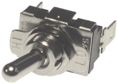 Symtec 220004 Replacement Hi-Low Toggle Switch for ATV Snowmobile Hand Warmer