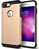 Caseology Legion Series iPhone 8 Plus Cover Case with Tough Rugged Heavy Duty Protection for Apple iPhone 8 Plus (2017) Only - Copper Gold