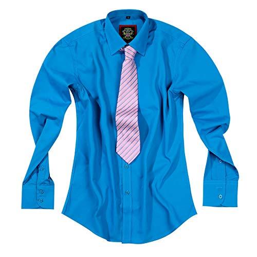 Camisas de vestir para hombre de oficina, traje de boda y manga...