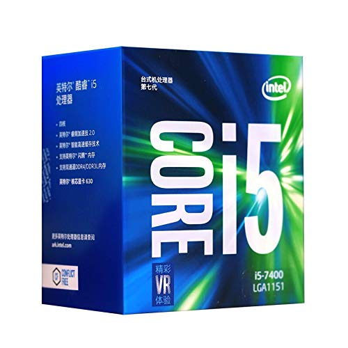 lizeyu Adatto per la settima generazione core i5 7400 1151 interfaccia, processore CPU in scatola, unità di elaborazione centrale CPU desktop