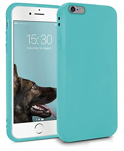 MyGadget Cover per Apple iPhone 6 / 6s - Custodia Protettiva in Silicone Morbido – Case TPU Ultra Flessibile - Protezione Antiurto & Antigraffio - Turchese