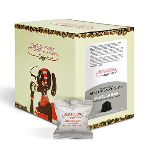 Capsule Compatibili NESCAFE' DOLCE GUSTO - Pedaccini Caffè - Confezione da 50 Capsule