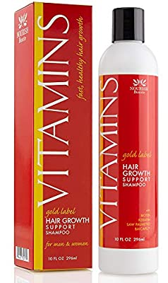 Nourish Beaute Premium Shampoo for Hair Loss that Promotes Hair Regrowth, Volume and Thickening with Biotin, DHT Blockers, Sulfate-Free, For Men and Women