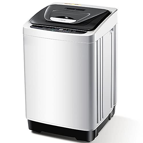 INTERGREAT Portable Washing Machine 12.6 lbs Full...