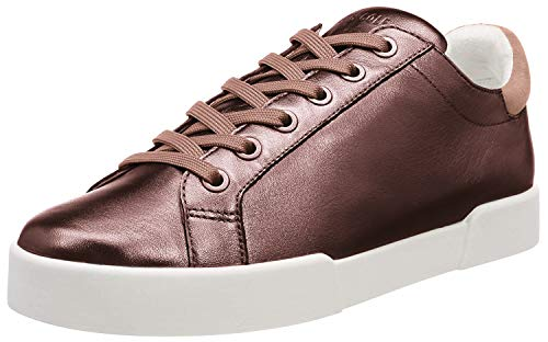 Kenneth Cole New York Women's Tyler Laceup Sneaker, Copper, 8.5 M US