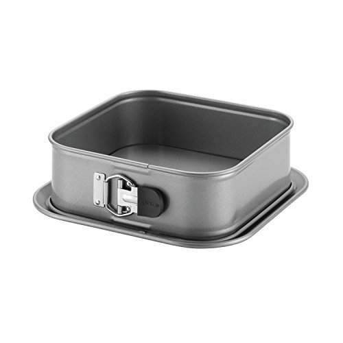 Anolon Advanced Nonstick Springform Baking Pan / Nonstick Springform Cake Pan, Square - 9 Inch, Gray