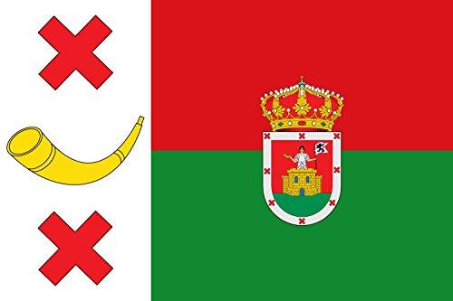magFlags Bandera Large Municipio de Pobladura de Pelayo García Castilla y León | Bandera Paisaje | 1.35m² | 90x150cm