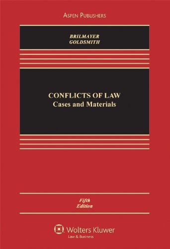 Conflict of Laws: Cases and Materials (Casebook)