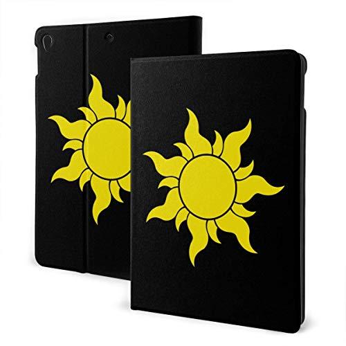 liusizheree Verwirrtes Sonnensymbol Case Hülle für iPad 10.2 Zoll 2019 7th Generation Dreifach Falt Klapp Schutzhülle Case Schutzhülle mit Ständer Funktion und Auto Schlafen/Wachen