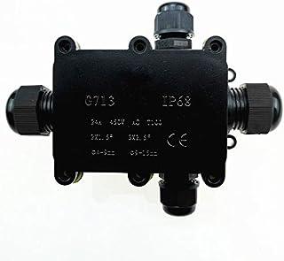 DZF697 1pc Junction Boîte IP68 imperméable UV Simple EXTÉRIEUR EXTÉRIEUR EXTÉRIEUR EXTÉRIEUR DE MODIANT Moyens PLASSURES B...