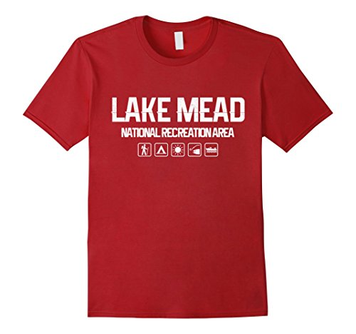 Kids Lake Mead National Recreation Area, Nevada Outdoor T-shirt 12 Heather Blue