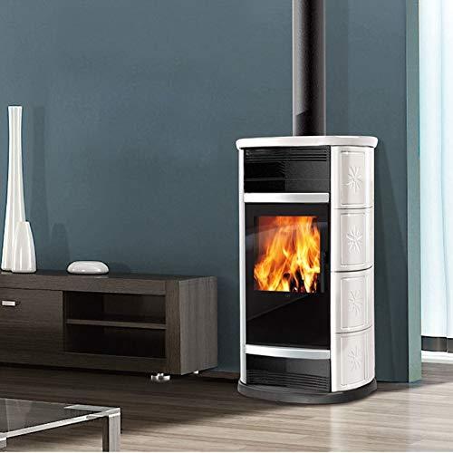 Estufa de leña BIG de aire 9 kW Edilkamin horno de aire caliente