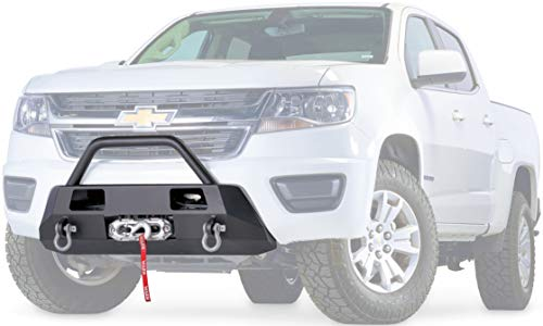 WARN 103210 Semi-Hidden Low-Profile Winch Mounting Kit, Fits: Chevrolet Colorado (2015-Current)