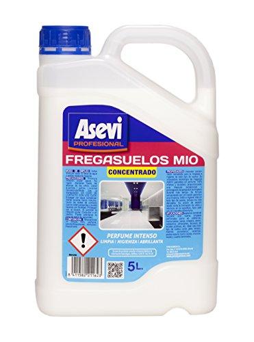 Asevi Profesional 21162 - Fregasuelos mio concentrado, 5 l, pH neutro