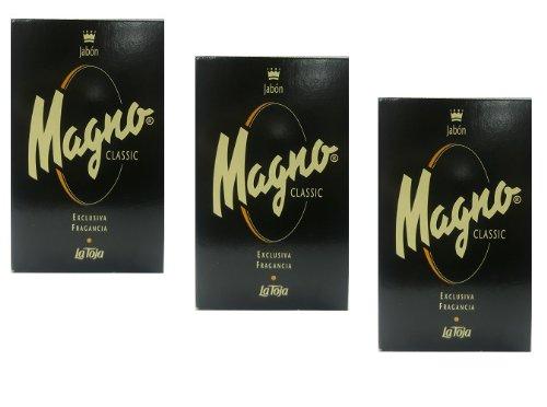 3x Magno Classic Soap - Seife - Savon 125g (insgesamt - 375g)