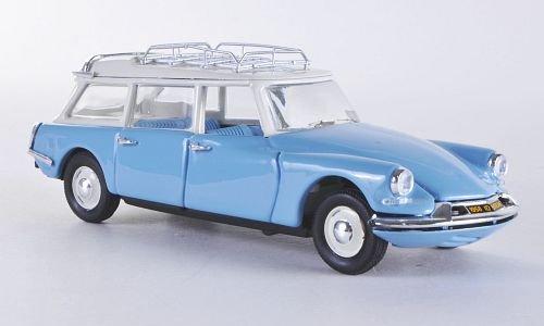 Citroen ID 19 Break, blau, 1958, Modellauto, Fertigmodell, Rio 1:43
