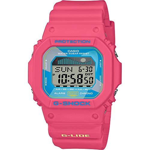 CASIO Damen Digital Quarz Uhr mit Resin Armband GLX-5600VH-4ER