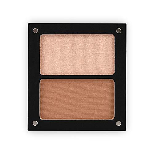 Jolly Dim Makeup Contour & Glow Set - Highlighter und Bronzer. Make-up Palette für das Gesicht Perfekt für unterwegs.