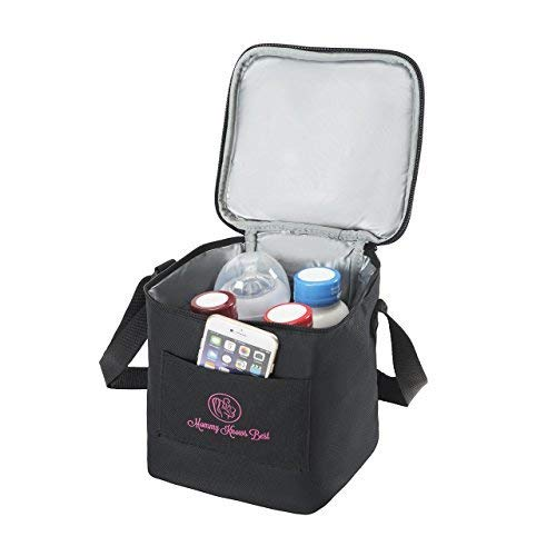 Breastmilk Cooler Bag - Extra Tall Breast Milk Baby Bottle Cooler Bag for Insulated Storage - Air Tight Design to Lock in the Cold & Preserve Important Nutrients for your Baby - Fits up to Most 8 oz B
