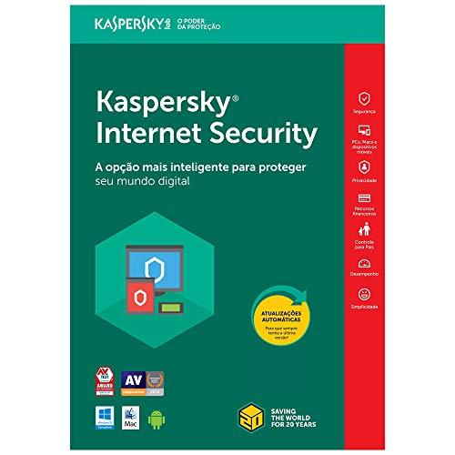 Kaspersky Internet Security - Multidispositivos - 3 Dispositivos, 1 ano (Digital - Via Download)