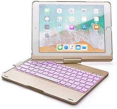 Strnry iPad Keyboard Case 9,7 para iPad 2018 (6.A Generación ...