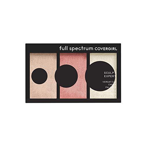 Covergirl Full Spectrum Sculpt Expert- Multiuse Cheek Palette Blush Touch