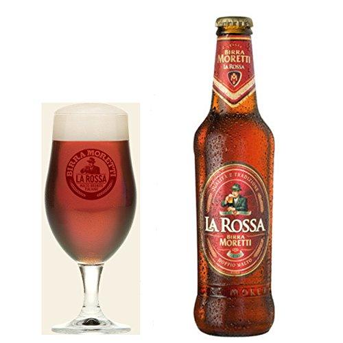Cerveza Moretti La Rossa 24 x 33 cl