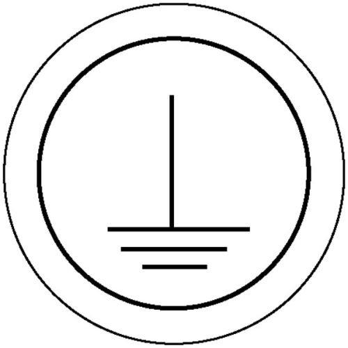 2396. Etikettering op bedrijfsmiddelen op vel beschermende ladder folieetiketten, zelfklevend, op boog gestanst grootte 3,15 cm