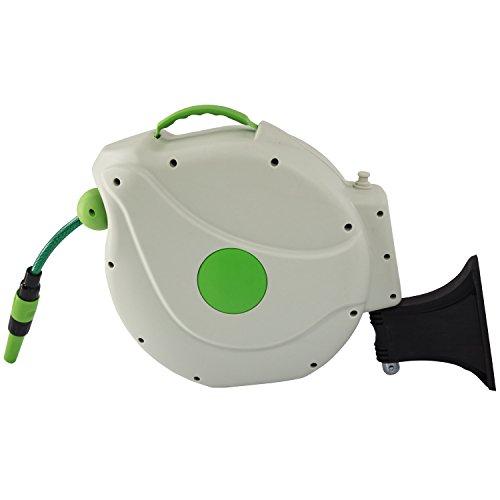 Miganeo® Automatischer Comfort Gartenschlauchabroller mit 20m Schlauch - 1/2