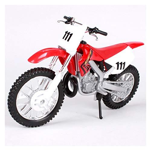 Modelos de motocicleta kits 1:18 Para CR250 R Die Casting MOTO DIECAST MODEL Adulto Niños Juguetes Ornamentos