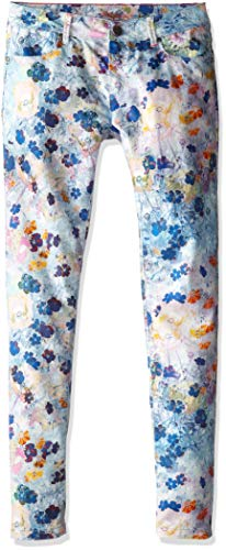 Paul Smith Junior Girls' Flower Print Jeans in Elecrical Blue (Big Kids), 14 X One Size