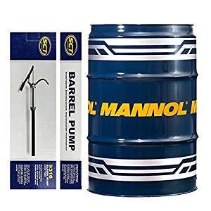 MANNOL 208 Liter Fass + Pumpe Diesel TDI 5W-30 C3 DPF 229.51 Dexos 2 505.01