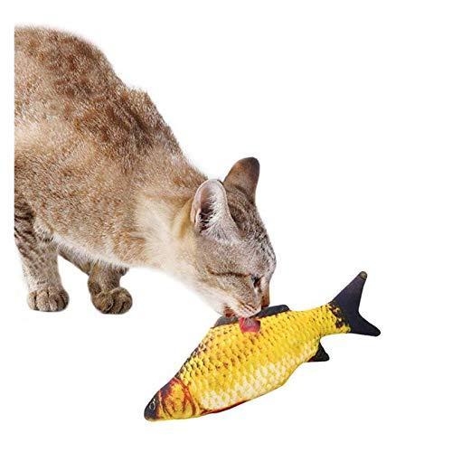 Giocattoli di peluche Pet morbido peluche 3d forma pesce forma gatto giocattolo regali interattivi pesce catnip giocattolo cuscino farcito bambola simulazione pesce gioco giocattolo per animali domest