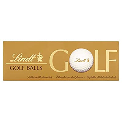 lindt milk chocolate novelty golf ball set gift each with a smooth hazelnut filling in a 110 g pack that contains 3 milk chocolate golf balls, a perfect gift for all golf lovers Lindt Milk Chocolate Novelty Golf Ball Set Gift Each with a Smooth Hazelnut Filling in a 110 g Pack That Contains 3 Milk… 41XRqiEBfBL