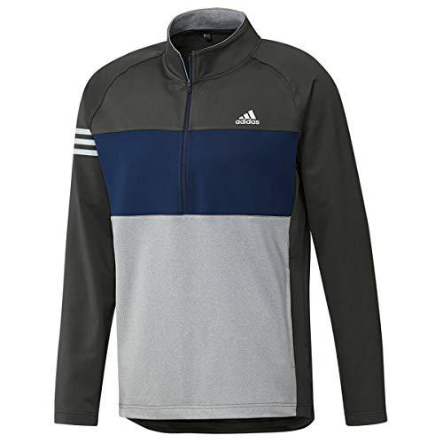 adidas Competition Sweater – Maglione da Uomo, Uomo, Maglia, DZ8570 XL, Grigio/Blu Navy/Grigio Scuro, XL