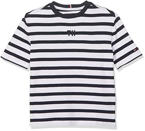 Tommy Hilfiger Rugby Stripe Boxy S//S T-Shirt Bambino