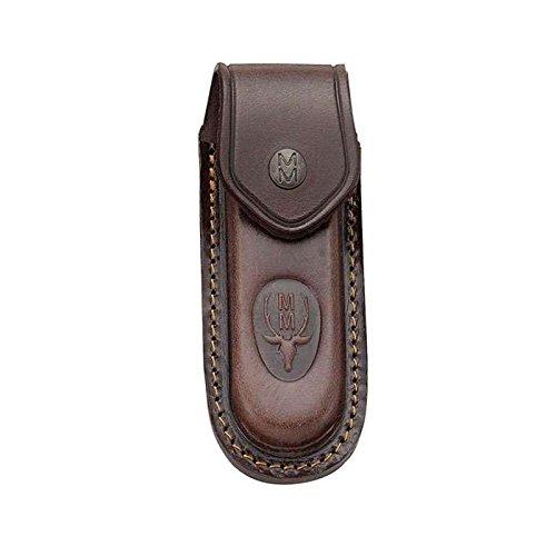 Electropolis Funda de Piel Muela F/10 de Color marrón, Ideal para Modelos de navajas 10-M, Medida 140 x 58 mm