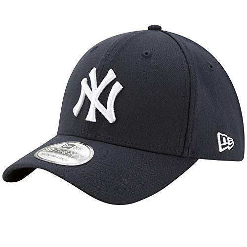 New Era MLB Team Classic 39Thirty Stretch Fit Cap, Blue, Small/Medium